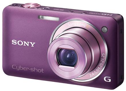 Sony CyberShot DSC-WX5 fialový
