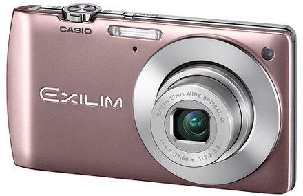 Casio EXILIM S200 růžový