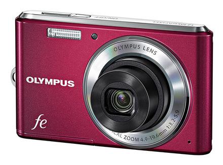Olympus FE-4050 červený