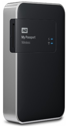 "Western Digital My Passport Wireless 1TB, 2.5"" USB 3.0, černý"