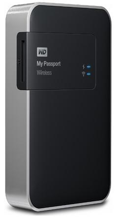 """Western Digital My Passport Wireless 1TB, 2.5"""" USB 3.0, černý"""