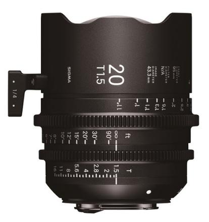 Sigma CINE 20mm T/1,5 pro Sony E