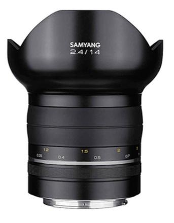 Samyang Premium MF 14mm f/2,4 pro Canon EF