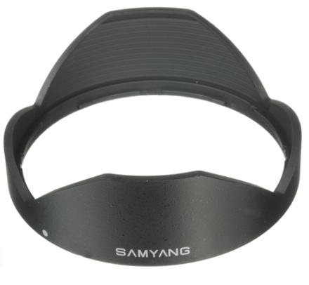 Samyang sluneční clona pro 12mm f/2,8 a T/3,1