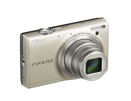 Nikon Coolpix S6100 stříbrný