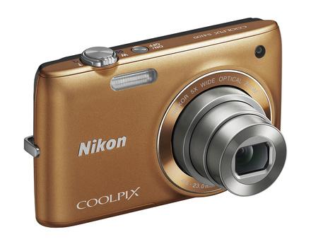 Nikon Coolpix S4100 bronzový