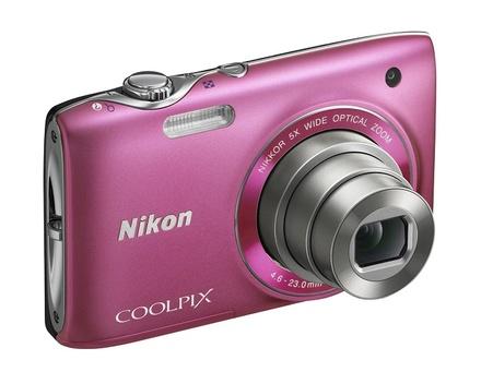 Nikon Coolpix S3100 růžový