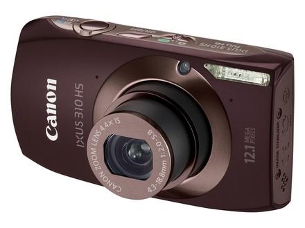 Canon IXUS 310 HS hnědý