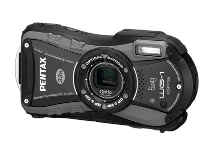 Pentax Optio WG-1 GPS šedý