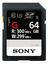 Sony SDXC SF-G 64GB Class 10 U3 UHS-II