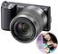 Sony NEX-5N černý + 18-55 mm + 16 mm